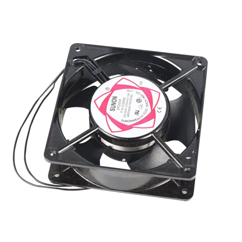 CE Certification 1pcs Hatching Machine Parts 220-240v ~ 50 / 60hz 0.14a Incubator Cooling Fan To Ensure Quality Random Delivery