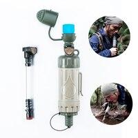 Tragbare Outdoor 2019 NEUE Wasser Filter Purifier Wasser Trinken Direkt Notfall Überleben Ausrüstung Mit Wasser Filter| |   -