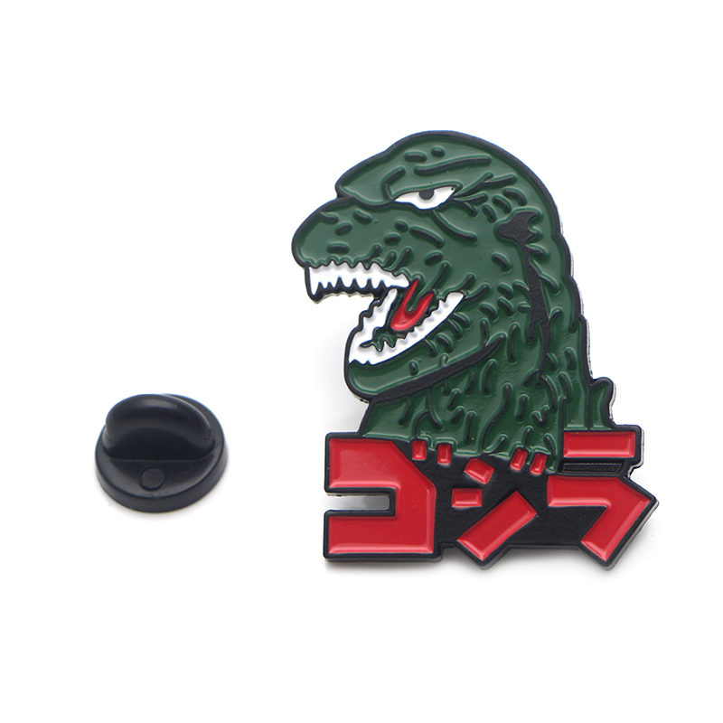 Godzilla Monsters Enamel Pins And Brooches For Lapel Pin Backpack Bags Badge Anime Cosplay Prop Cool Gifts Drop Shiop Wholesale