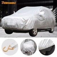 Universal Car Cover Sunshade Rain Snow Dust Frost Resistant Car Cover UV Anti Sun Waterproof Dustproof