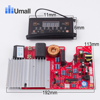 universal induction cooker modified board repair electric cooker stove spare parts circuit diagram micro computer controller