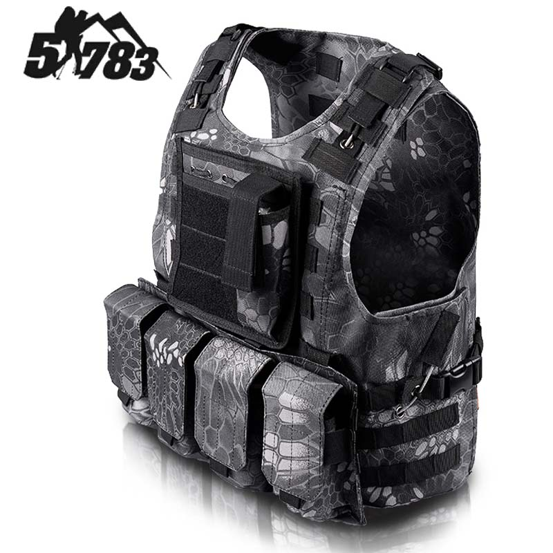 51783 Brand FSBE Vest Hunting Army CS Paintball Go Airsoft Tactical Military Molle Combat Assault Carrier Vest Colete tatico deli a4 folder 8 grids portable multi layer paper bag information package expanding wallet document bag school office supplies