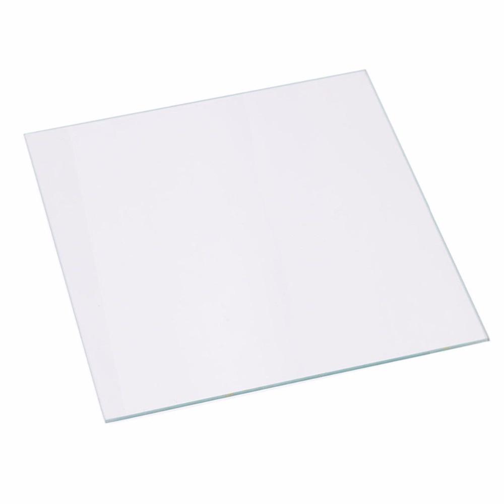 Funssor Creality CR 10 Series Glass Heated Bed 4MM Borosilicate Glass Plate for DIY CR 10
