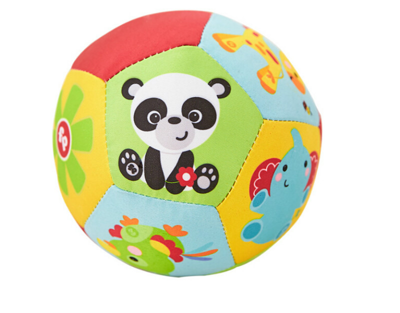 Baby Toys Animal <font><b>Ball</b></font> Soft Stuffed Toy <font><b>Balls</b></font> Baby Rattles Infant Babies Body Building <font><b>Ball</b></font> For 0-12 Months Hot Sale