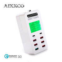 AIXXCO 35W USB Charger With 2 USB Type C Ports Charging Station Quick Charge 3.0 Phone Charger USB C QC3.0 Fast Charging