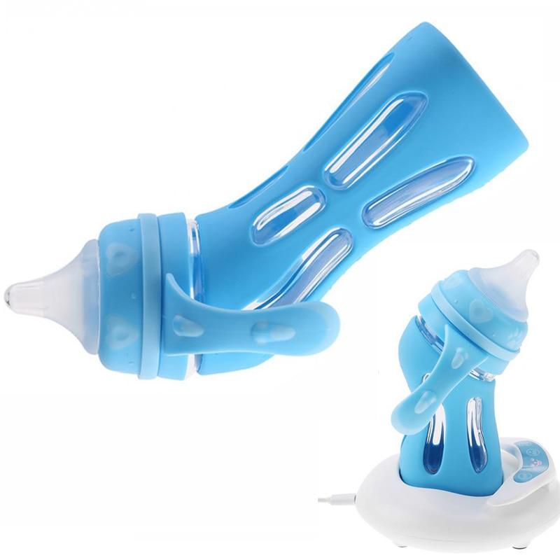 100% QualitäT Simulation Brust Milch Fütterung Flasche 180 Ml 240 Ml Neugeborenen Bpa Freies Automatische Fütterung Bolttle Wärmer Sterilisator Heizung Universal Supplement Die Vitalenergie Und NäHren Yin Flaschenzuführung