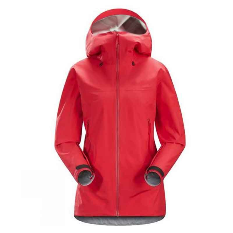 d33ed425c210f Women's Lightweight Waterproof Rain Jacket Hooded Windproof Raincoat  Softshell Jacket for Outdoor Hiking Travel Camping Climing