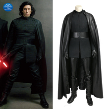 MANLUYUNXIAO Star Wars The Last Jedi Kylo Ren Costume Men Full Set Halloween Cosplay For Custom Made
