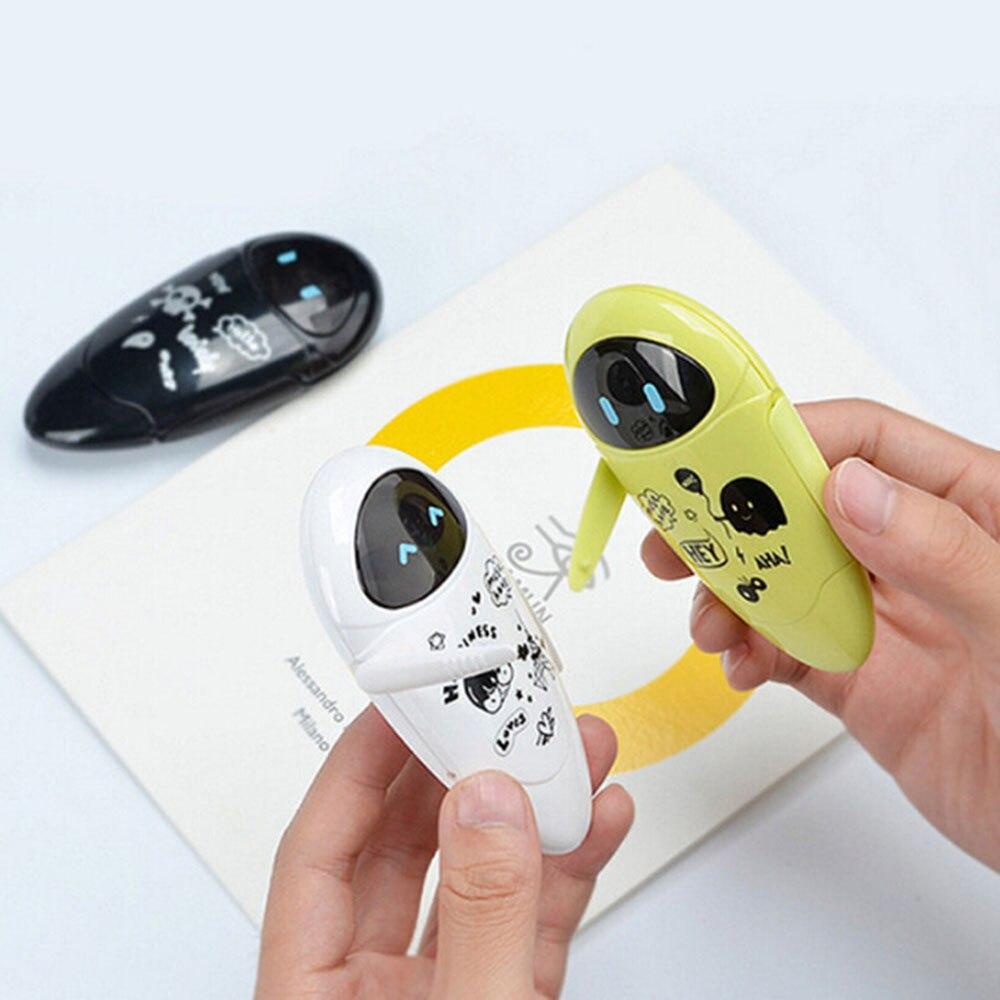 Bonito robôs kawaii correção fita dos desenhos animados 5mm x 8m fita de correção para crianças presente escolar artigos de papelaria coreano