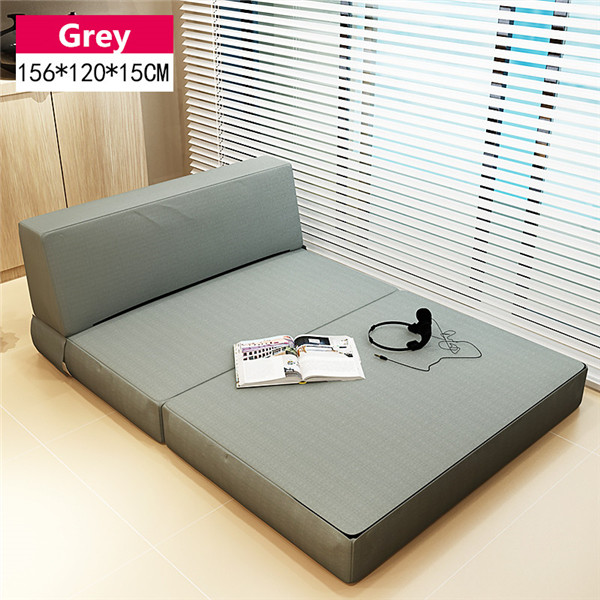 Foam Folding Mattress and Sofa Bed with Removable Cover Bedroom Furniture Sleeping Futon Bed Japanese Floor Sofa Daybed Chaise