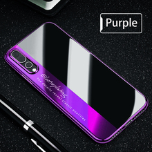 New Luxury Slim Shockproof Transparent Hybrid Silicone Phone Case for Huawei P20 Lite Pro Soft TPU