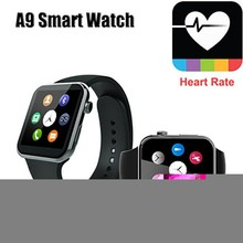 Thin Smartwatch Bluetooth Smart look ahead to IOS Android Phone relogio inteligente Heart Rate Monitor Men Women wearable goldwatch