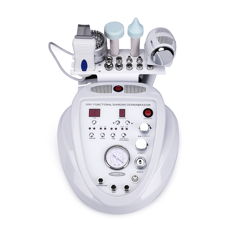 Dermabrasion Microdermabrasion Machine Peeling Anti Aging Wrinkle Skincare Blackhead Remover Exfoliator For Beauty Salon