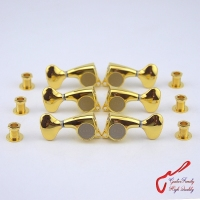 Genuine Original L3+R3 GOTOH SGL510Z L5 Guitar Machine Heads Tuners ( Gold ) MADE IN JAPAN