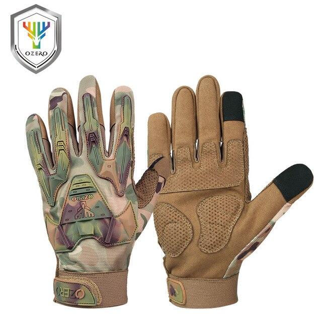 OZERO 新着作品手袋男性の革本ドライバのセキュリティ保護摩耗安全労働者溶接モト手袋 9021