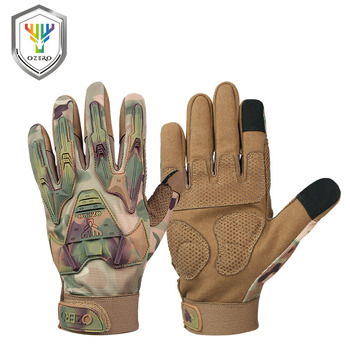 OZERO New Arrival Work Gloves Mens Leather Genuine Driver Security Protection Wear Safety Workers Welding Moto  9021