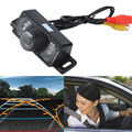 New Promotion Car Rear View Camera Reverse Backup Camera 7 LED IR Night Vision Waterproof Color CMOS Car Parking Camera