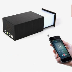 Lamp Luminaria Music-Player Touch-Switch Night-Light Bluetooth-Link Usbcharging-Interface