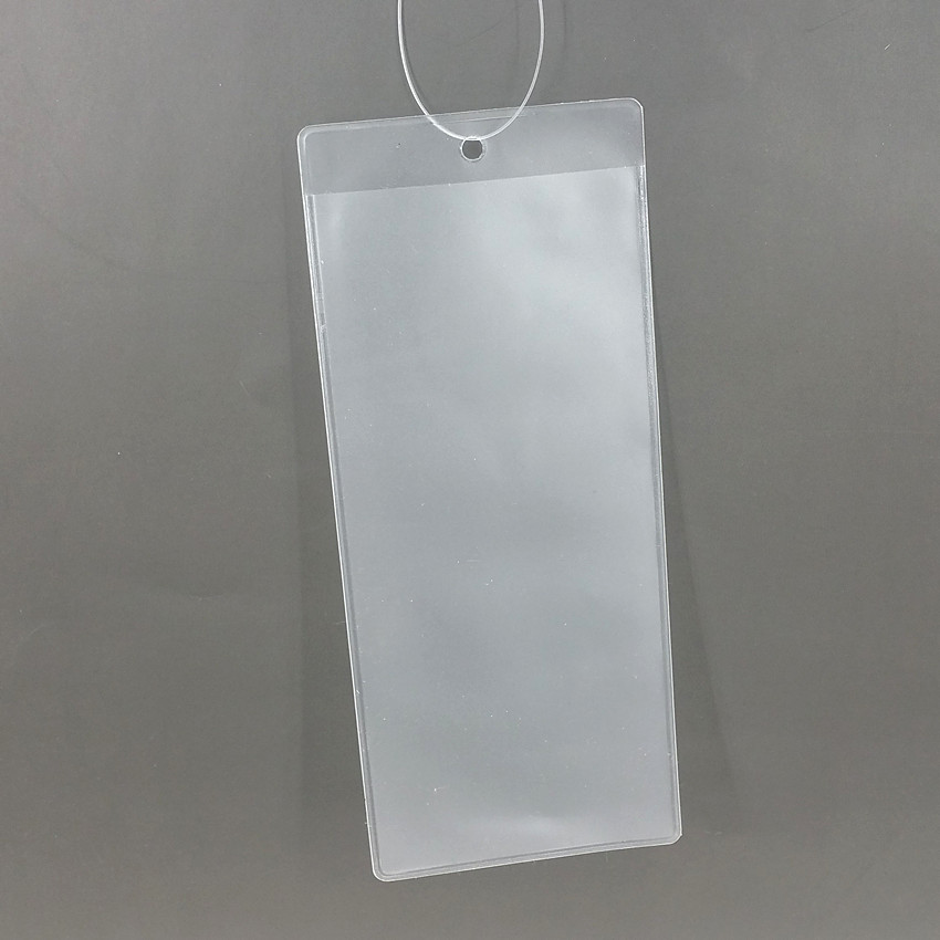 Sporting Plastic Pvc Dull Polish Type Price Card Tag Paper Label Sleeve Bags Holders Stock Available Or Customized Size In Shop 100pcs Pure White And Translucent File Folder Filing Products