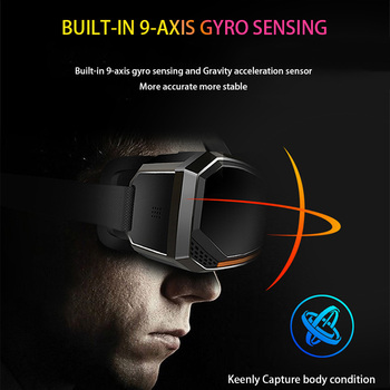 Wi-Fi 2K HDMI All in One 360 Degree Virtual Reality Glasses Immersive VR Headset 3D Android Cardboard with Controller 2GB/16GB 3