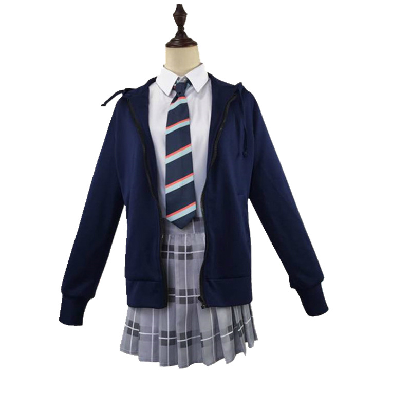 DARLING in the FRANXX CODE 015 ICHIGO School Uniform Dress Outfit Cosplay Costume