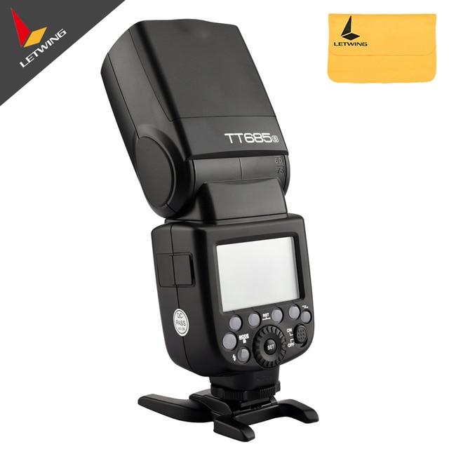2016 Godox Newest Flash TT685S 2.4G HSS 1/8000s TTL II GN60 Camera Flash Speedlite for Sony Camera