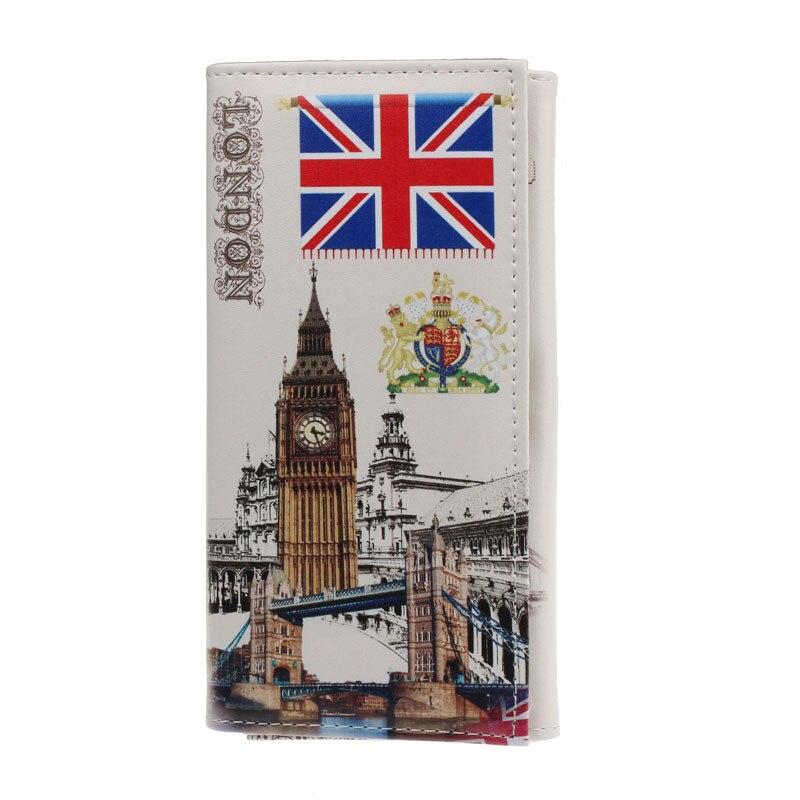Naivety Wallet New Portable Fashion Flag Pattern Women Long Purse Clutch Lady Bag JUN27 drop shipping