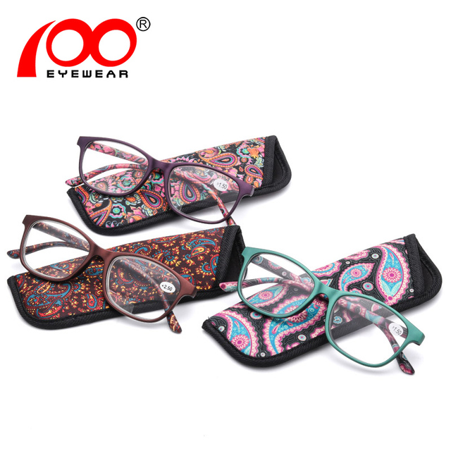 Ultralight Unbreakable reading glasses Flowers diopter women fashion clear Brands eyeglasses presbyopia #RD8565