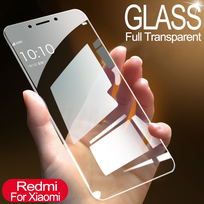 Protective Glass For Xiaomi Redmi 4 4A 4X 5 5A 5 Plus Tempered Screen Protector Glass On The Redmi 6 6A S2 Note 4 4X 7 7A Film