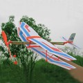 NEW Educational DIY Assembly Airplane Aircraft Launched Powered By Rubber Kids Model Building Kits
