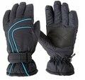 Новый 2016 мальчиков перчатки, зимние теплые перчатки, лыжные открытый сноуборд перчатки, ветрозащитный водонепроницаемый варежки, 7-12Y мальчиков