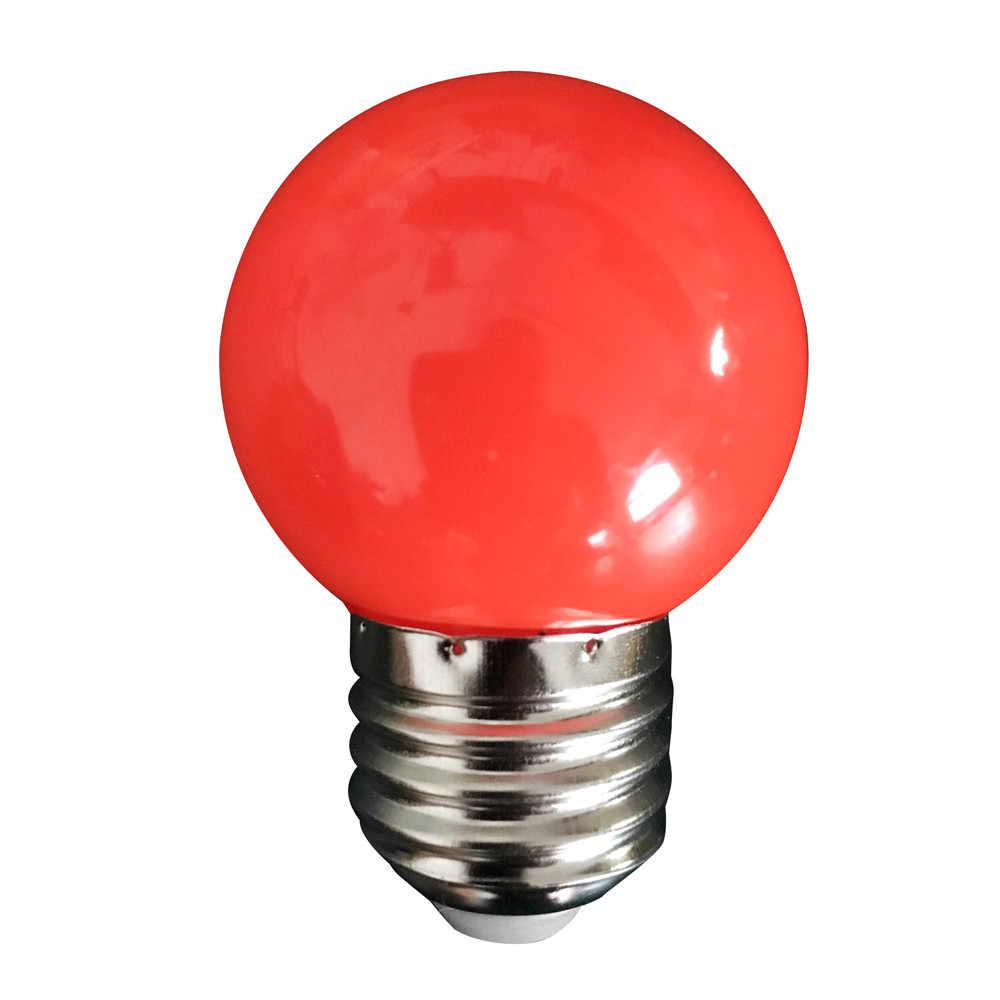 Новейший красочный E27 110V 220V красный синий зеленый белый желтый rgb blubs энергосберегающий светодиодный мячик для гольфа светильник лампа глобус лампа #15