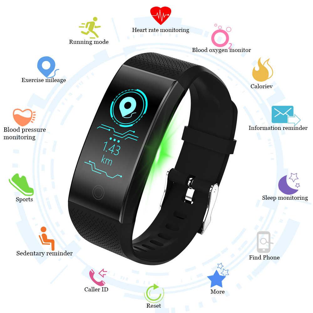 6e0d0f2ee95d DOOLNNG T1 inteligente reloj Bluetooth IP67 impermeable de la ...