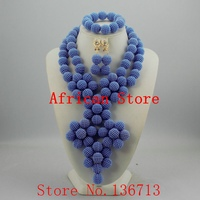 Splendid African Beaded Coral Jewelry Set African baby pink Crystal Beads Jewelry Set for Wedding New 921 1