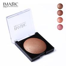 IMAGIC Women Bronzer Matte Shimmer Blush Palette Face Makeup Contouring Baked Cheek Powder Color Blusher PRO Paleta De Cosmetics
