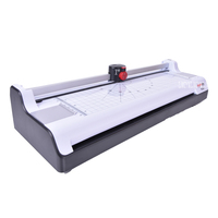 New Smart photo laminator A3 laminating machine laminator sealed plastic machine hot and cold laminator width 330mm