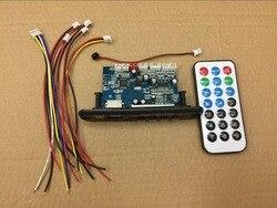 Смарт-Электроника USB TF беспроводной Bluetooth, WMA, APE, FLAC, WAV декодер плата 12 в автомобильный беспроводной аудио Bluetooth модуль громкой связи