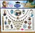Hielo Nieve Niña Princesa Elsa Anna Niños Kid Regalo de Navidad de Dibujos Animados Pasta Tatuaje Impermeable Etiqueta Engomada Del Tatuaje Temporal