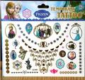 Ice Snow Girl Princess Elsa Anna Child Temporary Tattoo Sticker  Christmas Gift Kid Cartoon Waterproof Tattoo Paste