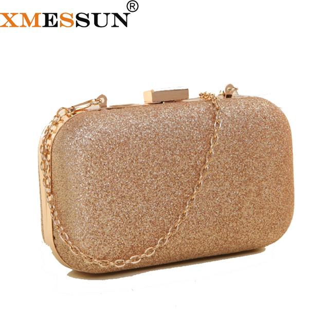 Xmessun Women Gold Clutch Bag Shoulder Bags Crossbody Las Evening For Party Day Clutches