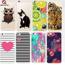 GerTong Case For Xiaomi Redmi 4A Case Note 4X 4 Pro Prime 3S 2 3 S Mi5 Mi4 Mi6 Mi 5 6 4 Case Cover TPU Cat Patterned Phone Shell