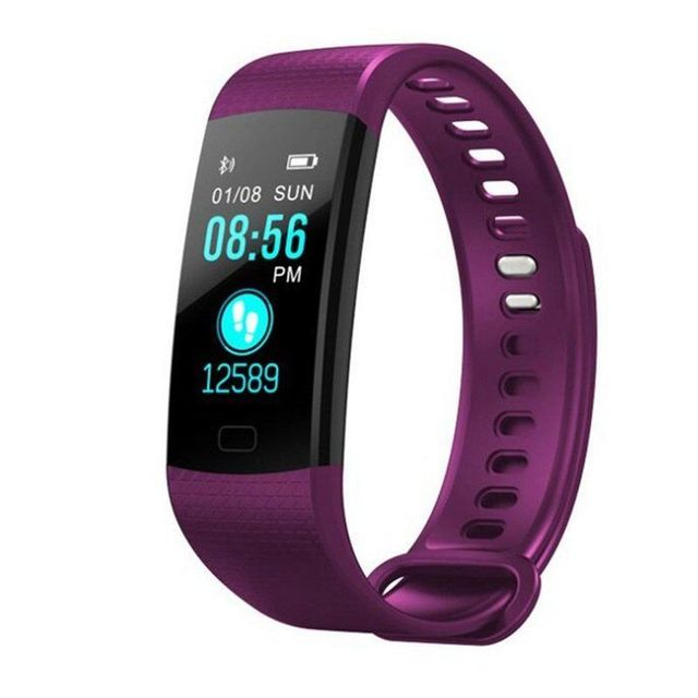 Fitness Activity Heart Rate Tracker Blood Pressure wristband Waterproof band Pedometer for IOS Android 4