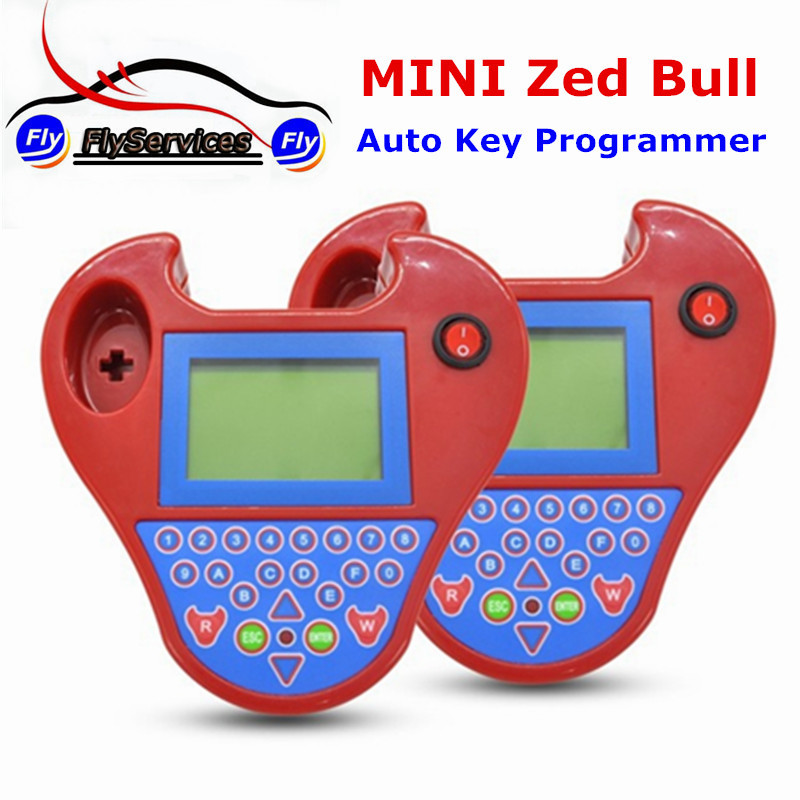 Newest Smart Car Key Programmer Mini Zed bull V508 Transponder Cloning Zedbull No Tokens Needed Anymore Fast Shipping mini smart zed bull multifunction car keys matching instrument red blue