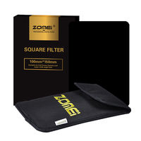 Zomei Full Grey Neutral Density ND16 Square Z PRO Series Filter For Cokin Z Lee Hitech