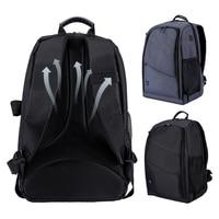 PULUZ Waterproof Functional Travel DSLR Backpack Camera Video Bag w/ Rain Cover SLR Tripod Case for Photographer Canon Nikon