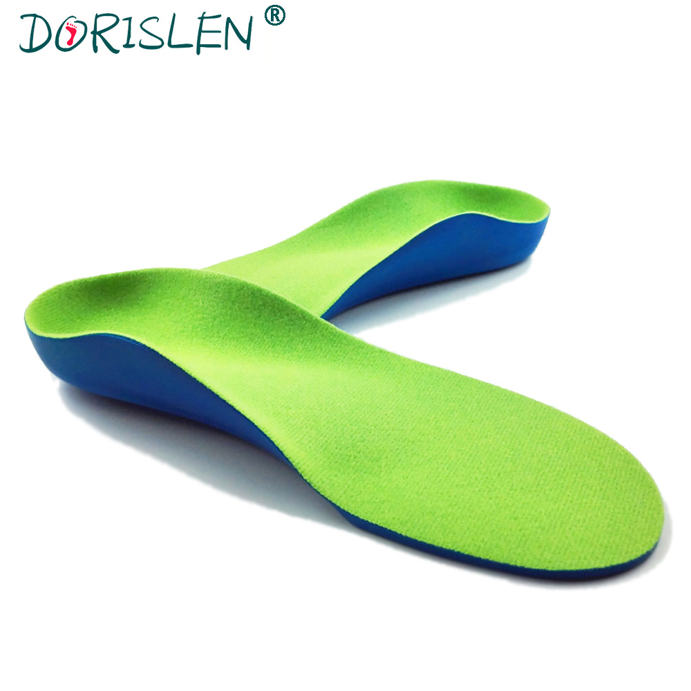 DORISLEN Orthotics Insoles For Kids Children Flatfoot Arch Support Shoe Pads 100pairs/Lot