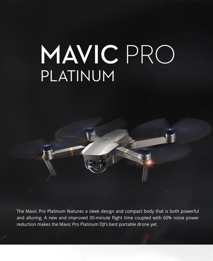 DJI Mavic  Fly More Combo with 4K HD Video Recording 30mins Flight time 7km Remote Control dji mavic pro drone_01