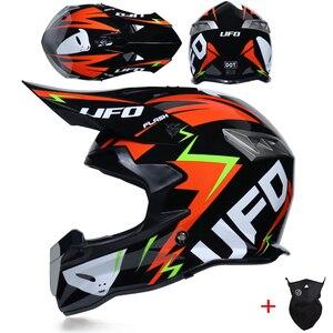 Image 2 - Yeni tasarım motosiklet koruyucu dişliler kir bisiklet yarışı Motocross kaskları kros motosiklet kask motokros