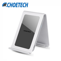 CHOETECH Qi Wireless Charging Stand Charger Three Coil For Samsung Galaxy S8 S7 Edge S6 Edge