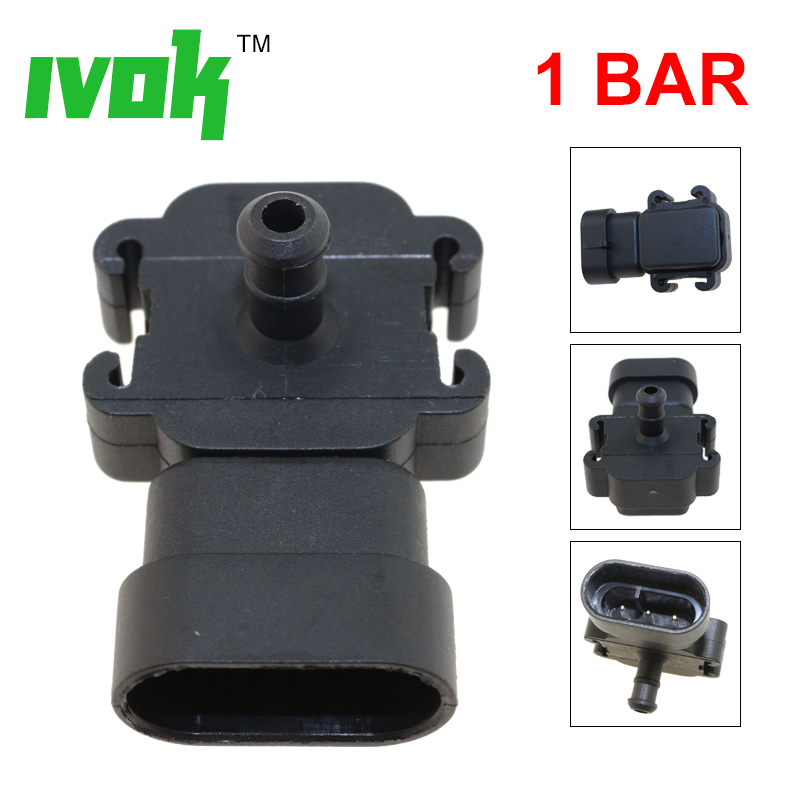 Automotive MAP Manifold Air Boost Pressure MAP Sensor For Ford ...